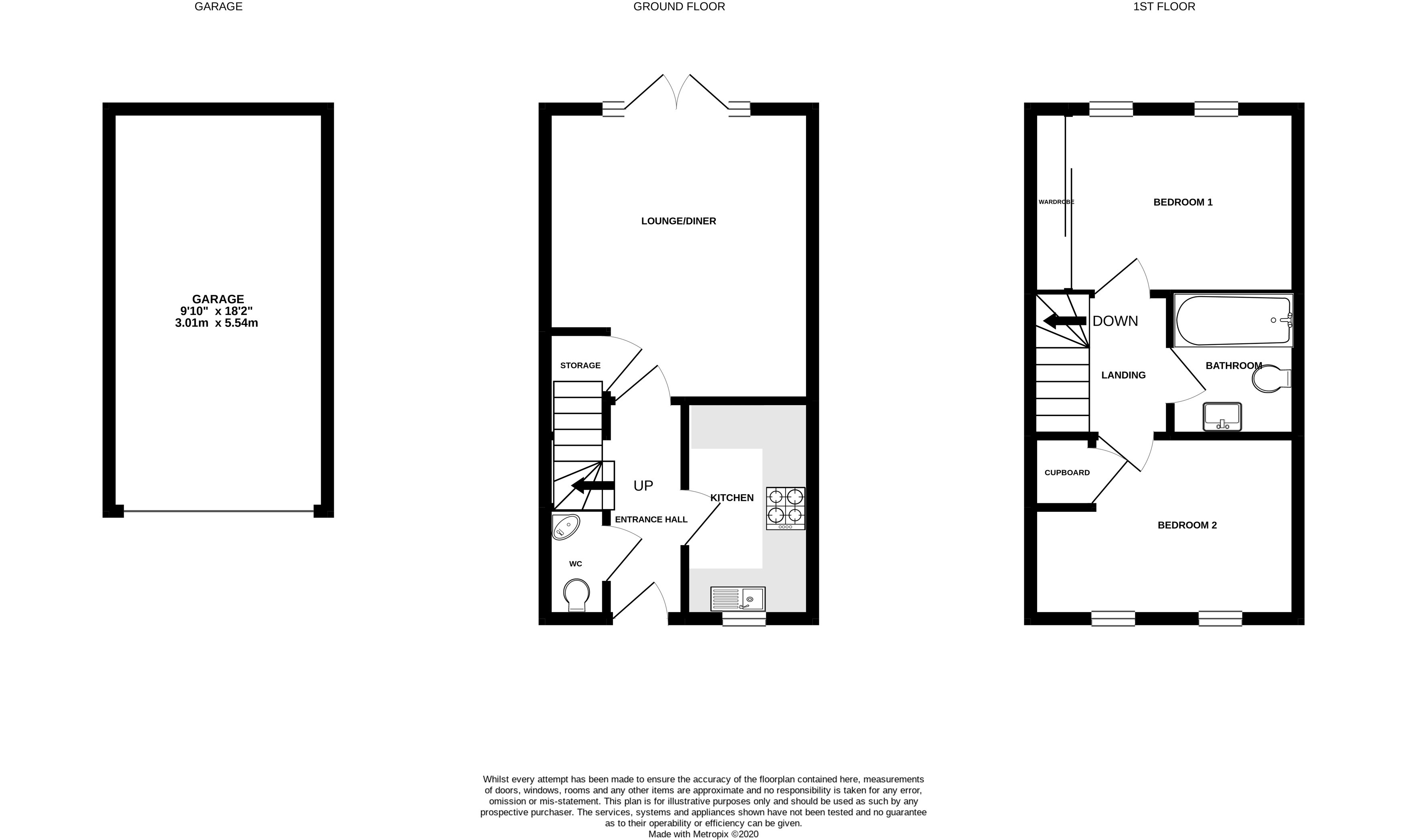 Floorplans For Chelford, Macclesfield, Cheshire