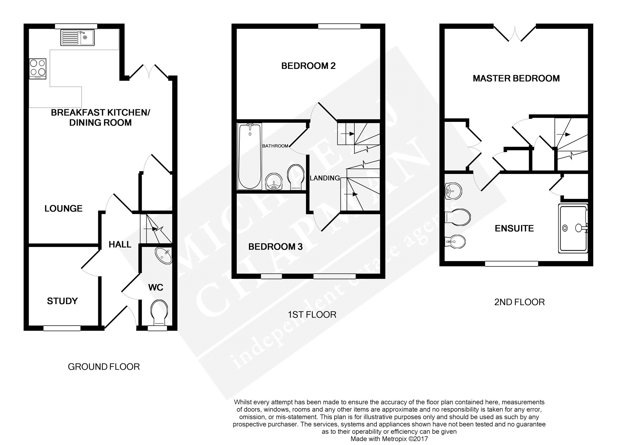 Floorplans For Arderne Place, Alderley Edge, Cheshire